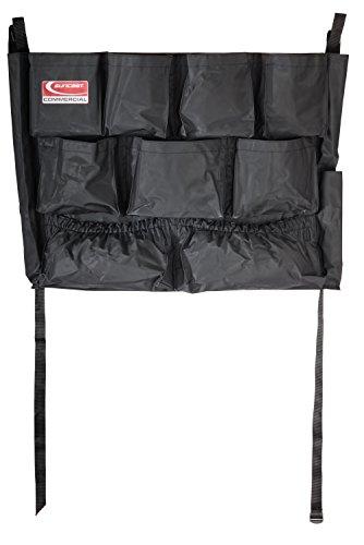 Suncast Commercial TCUCADDY Utility Trash Can Caddy Belt, Black
