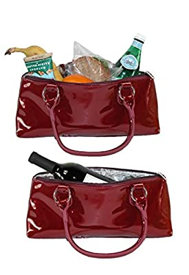 Primeware Clutch Insulated Single Bottle Wine Tote