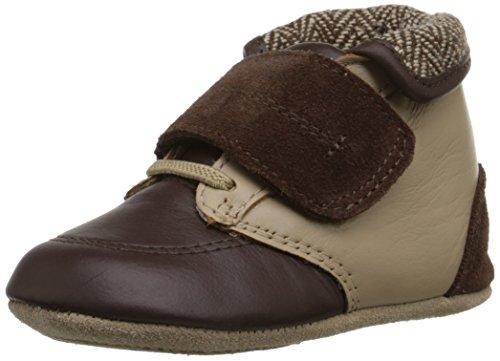 Robeez Harrison Mini Shoe (Infant), Brown, 9-12 Months M US Infant