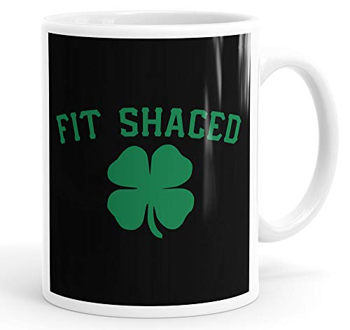 Fit Shaced Funny Slogan Halloween Mug Tea Cup Coffee -