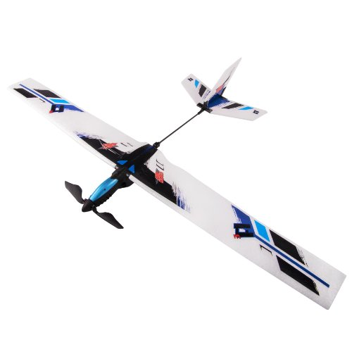 Air Hogs Zip Wing - Blue (Rc Stunt Planes)