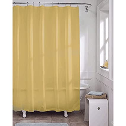 Kashi Home Premium PVC Shower Liner 70\u0026quot; x 72\u0026quot; Open Packaging in