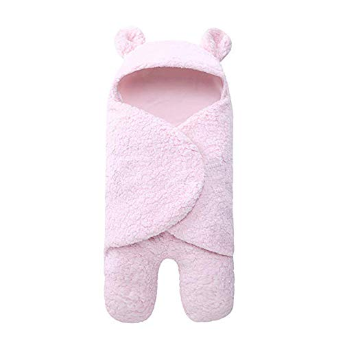 Gotian Blanket Winter ☀ Warm Newborn Baby Cute Cotton Receiving Sleeping Blanket Boy Girl Wrap Swaddle (C)