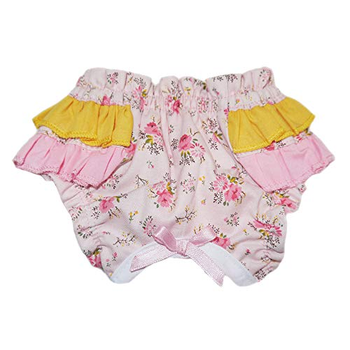 Pooch Outfitters Dog Panties Collection | Stylish & Tasteful Designer Dog Diapers - Comfortable Canine Underwear - Machine Washable