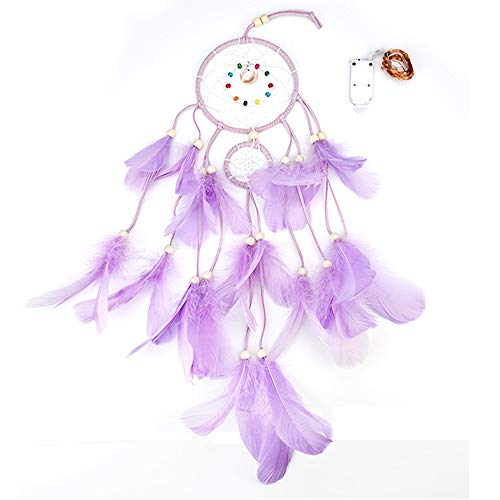 - AMOFINY Fashion Baby Toys New Dreamcatcher 2 Meter 20LED Lighting Girl Room Bell Bedroom Romantic Decoration