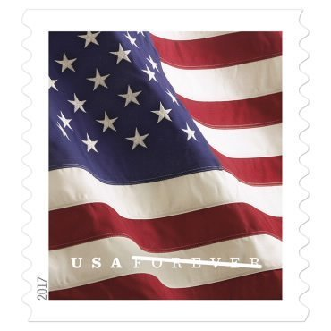 Forever Stamp Collecting Stamps Coil Of 100 Us Flag Postage 2017 2018 Roll Ebay