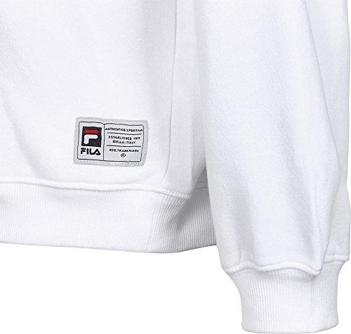 Logo Sweatshirt Sweater Weiß Classic Fila Fwqa5tnn