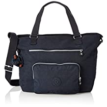Kipling Noelle Tote, True Blue, One Size