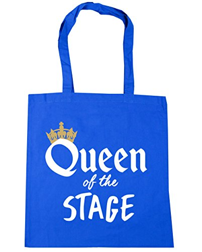 Beach 10 HippoWarehouse Blue Shopping litres Cornflower Gym Tote of x38cm Queen Bag the Stage 42cm waa1xFn0BP