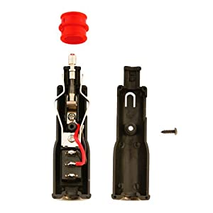 12v 24v cigarette lighter plug illuminated switch amazon co 12v 24v cigarette lighter plug illuminated switch