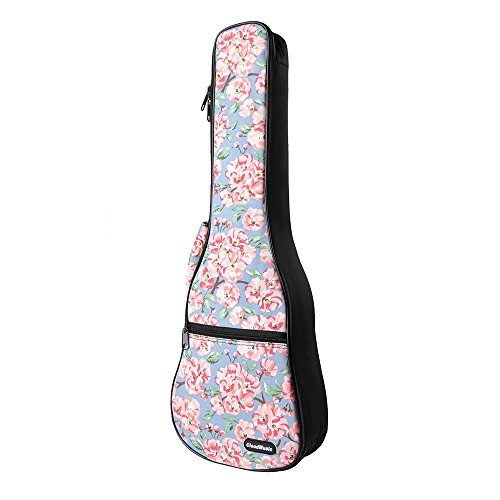 CLOUDMUSIC Flower Hawaiian Ukulele Soprano