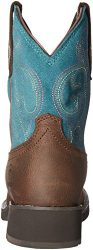 Ariat Women's Shasta H2O Work Boot, Baked Brown, 7.5 B US by Ariat (Image #2)