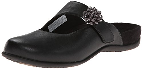 Vionic with Orthaheel Technology Women's Joan Mary Jane Mule,Black,US 8 M