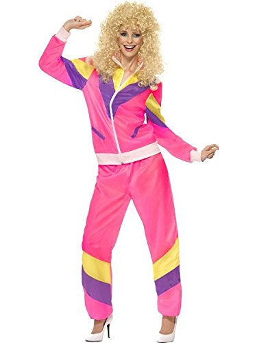 Smiffys 80s Height of Fashion Shell Suit Costume -
