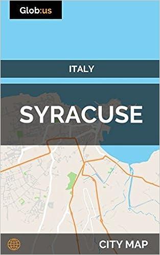 Syracuse Italy City Map Jason Patrick Bates 9781980784890