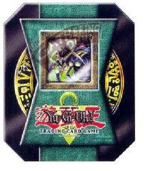 (Yu-Gi-Oh 2004 Collectible Tin Set - Insect Queen (Dk Green) )