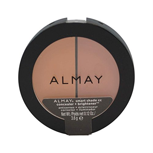 2 Pack- Almay Smart Shade Cc Concealer + Brightener #200 Light/Medium