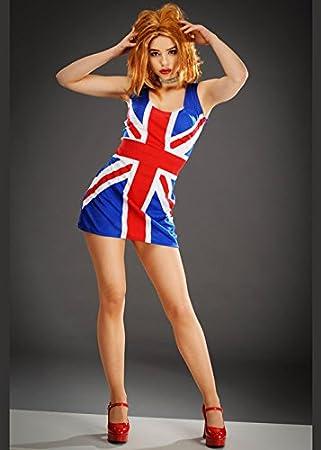 Delights Vestido de Mujer Geringer Spice Union Jack Geri Large (UK ...