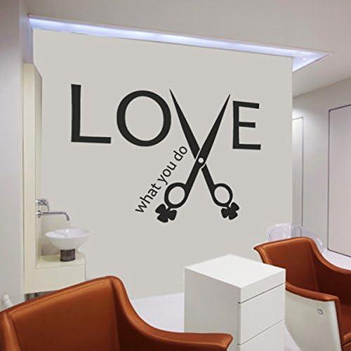 Love cosmetology decal sticker hair makeup