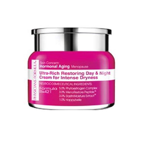 Les médecins Concern formule de la peau: le vieillissement hormonal / Ménopause Ultra-Rich Restauration Crème Jour & Nuit de la sécheresse intense, une once