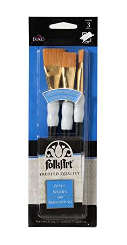 FolkArt Wash Brush Set, 50603E (Grip Paint Brush)
