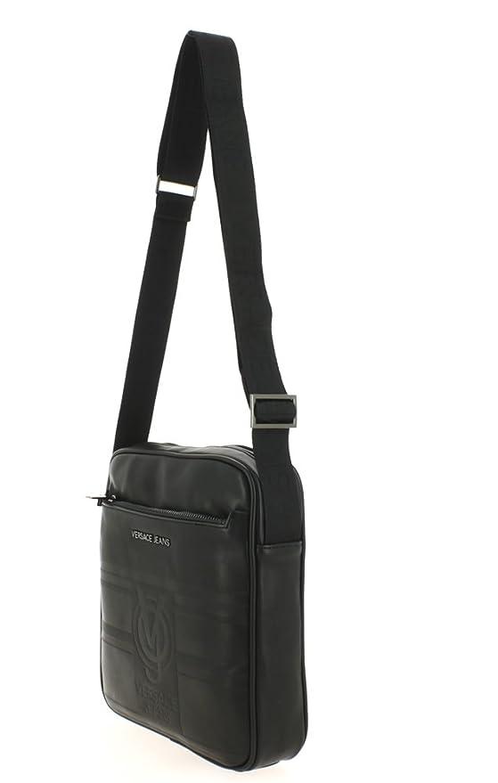 Versace Jeans - Bolso bandolera Line macrologo: Amazon.es: Ropa y accesorios