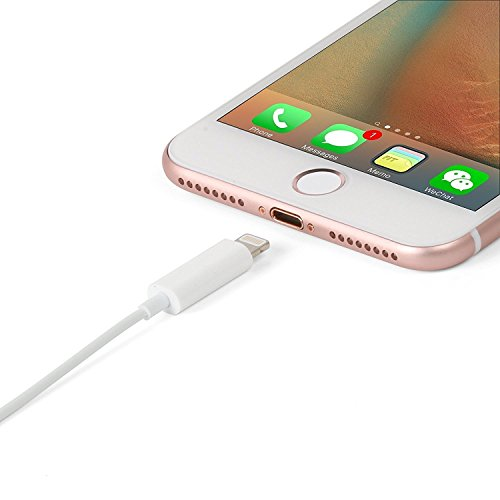 lighting 8 pin connector to 3 5 mm headphone jack adapter for iphone 7 7 plus 6 6s easy plug. Black Bedroom Furniture Sets. Home Design Ideas