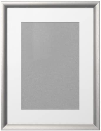 Ikea Silverhojden Rahmen In Silberfarben 30x40cm Amazon De Kuche Haushalt