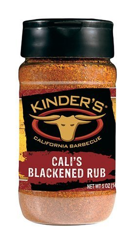 Kinder'S Blackened Rub California Bbq Spicy Garlic Chicken 5 Oz. by Kinder's Meats & BBQ