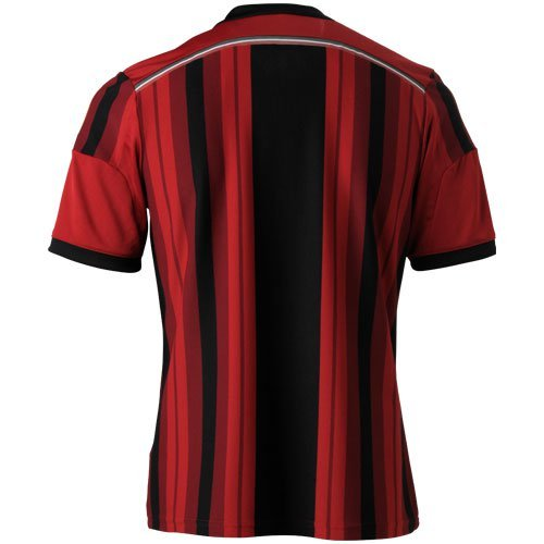 adidas Youth Climacool AC Milan 2014/2015 S/S Camiseta, Hombre ...