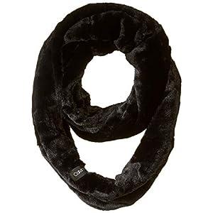 Calvin Klein Women's Solid Faux Fur Infinity Scarf