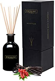 Benevolence LA Reed Diffuser Set | Inviting Scented Diffuser Sticks | Aromatherapy Oil Scented Oil Reed Diffus