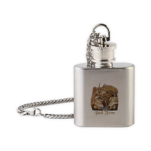Royal Lion Flask Necklace Buck Fever Deer Hunting