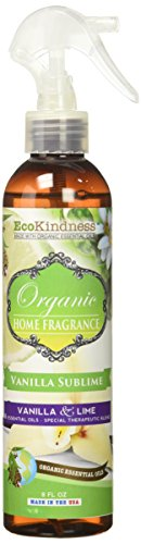 ecoKindness Organic Sublime Resplendant Lime Vanilla and Home Fragrance, 12 Count (Pack of 12) by EcoKindness