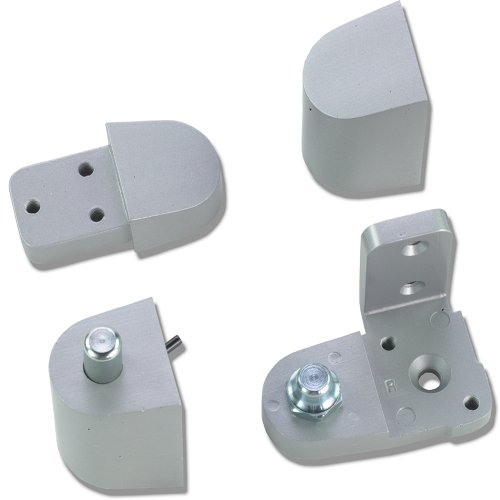 Global Door Controls Aluminum Pitco Style Right Hand Offset Pivot ()