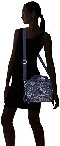 Water Women Beautycase With Palmbeach True 23 Trolley Multicolour Camo Kipling cm Blue Blue Sleeve Cdf7p71a