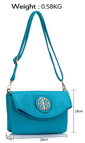 Faux Design Bags Tote Shoulder Sale Teal Handbags Ladies 4 Large Designer Leather Womens New wqx4ZnPX