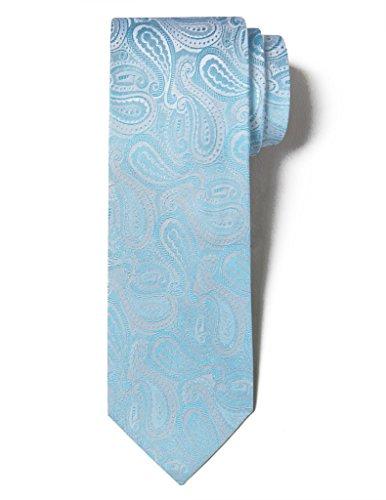 Light Blue Flower Tie - 2