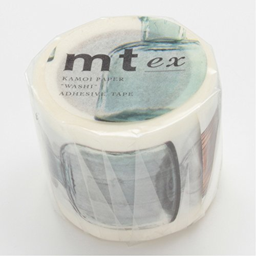 MT Washi Masking Tape, Bottles R, 40mm x 10m (MTEX1P58)