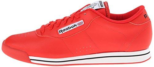 Cordon black amp; Red Talla Bajos Mujeres Correr Medios Classic Princess white Zapatos Reebok Para Techy AxqaYwB66