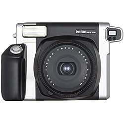 Fujifilm Instax 300 Wide Fotocamera Istantanea per Stampe Formato 62 x 99 mm, Nero/Argento