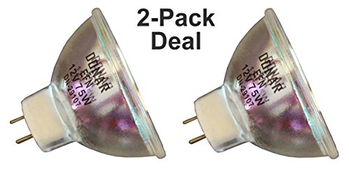 Efn Lamp - 2pcs RM-104 EFN 12V 75W Donar Lamp - Bauer T-5 T-15 Sound T-16 T15 T16 - Bell Howell 489Z - CHINON 8000- DENTSPLY Celebrity Perspective , Perspective 2 - EFOS 3035 5614 E-5614 Halogen Bulb