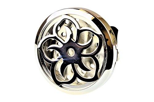 Lotus Flower Aromatherapy Car Air Freshener Essential Oil Ca