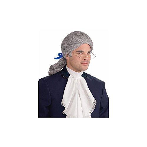 Forum Novelties 64885 Historical Wig, Grey (Halloween Costumes With Colored Wigs)