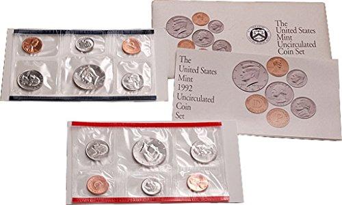 1992 US Mint Uncirculated Coin Set (U92) OGP