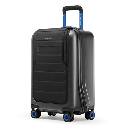 Smart Luggage: GPS, Remote Locking, Battery Charger (International Carry-on Size