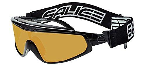 Salice Salice 915Noir/Acrx Jaune Chromolex Luminal Masque de ski Unisexe