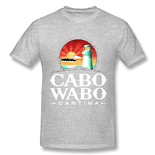Quliuwuda Connor Men's Cabo Wabo Cool Outdoor Ash T Shirts S Short - Liquor Christian Brothers