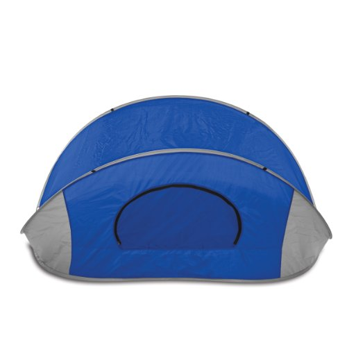 Picnic Time 'Manta' Portable Pop-Up Sun/Wind Shelter, Blue