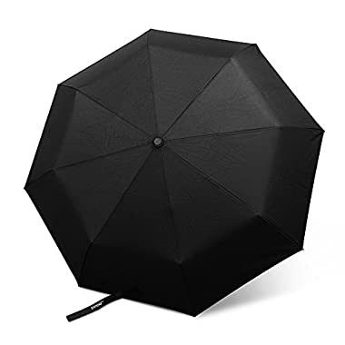 "Innoo Tech Windproof Umbrella Tested 55 Mph | Lightweight Travel Umbrella ""Unbreakable"" Auto Open and Close 